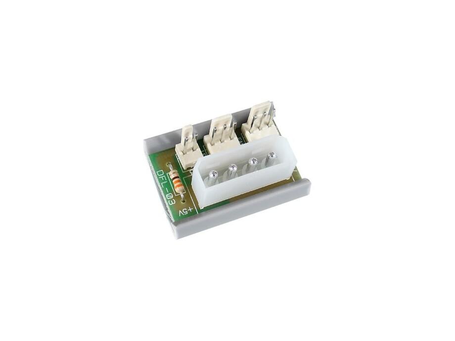 Regulators InLine Power Adapter Platine - 4Pin Molex 0
