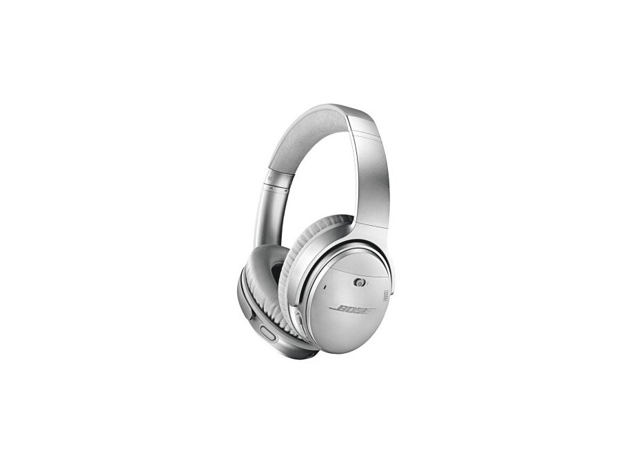 Bose QuietComfort 35 II Wireless Acoustic Noise-cancelling austiņas, Sudraba 1