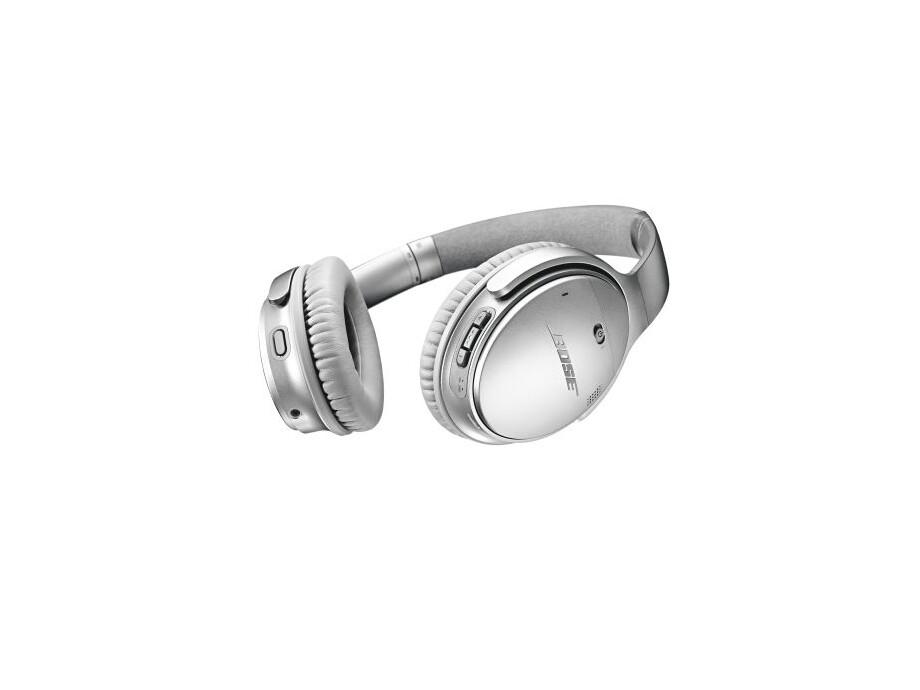Bose QuietComfort 35 II Wireless Acoustic Noise-cancelling austiņas, Sudraba 2