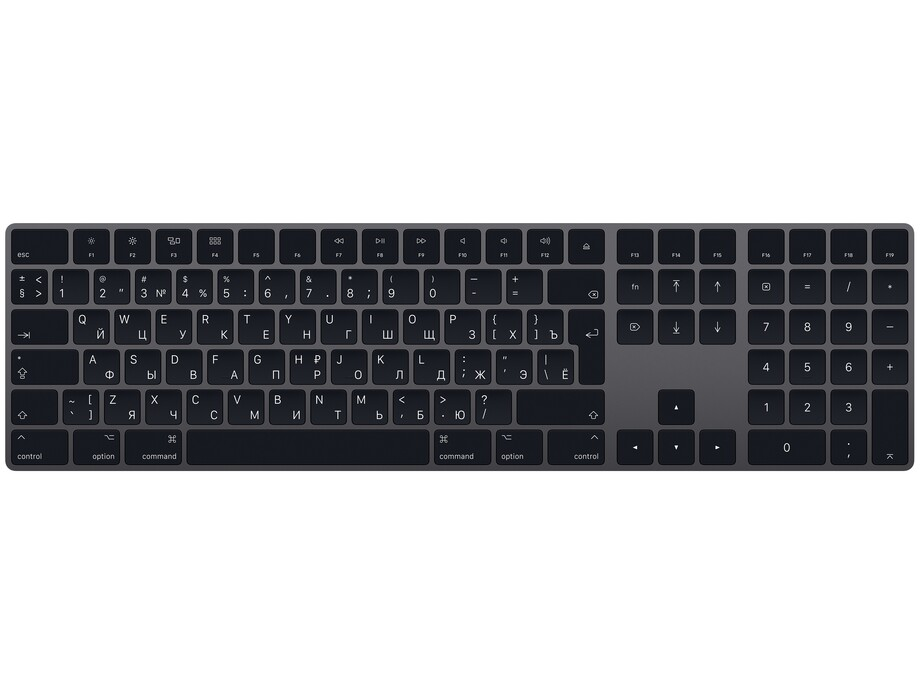 MRMH2 Magic keyboard extended RU space grey 0