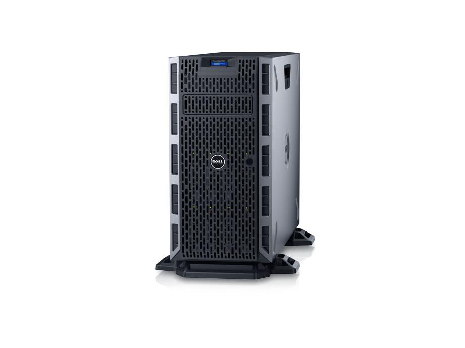 Serveris DELL PowerEdge T330/8 x 3.5 HotPlug/Xeon E3-1230 v6/8GB/300GB/DVD RW/On-Board LOM DP/PERC H730/iDRAC8 Exp/3Yr 0
