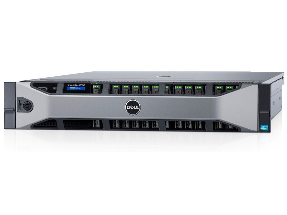 "Serveris DELL PowerEdge R730/8 x 3.5""/Xeon E5-2620 v4/16GB/300GB/Rails/Bezel/DVD RW/Broadcom 5720 QP 1Gb/PERC H730/iDRAC8 Ent/Redundant 750w/3Yr 0"