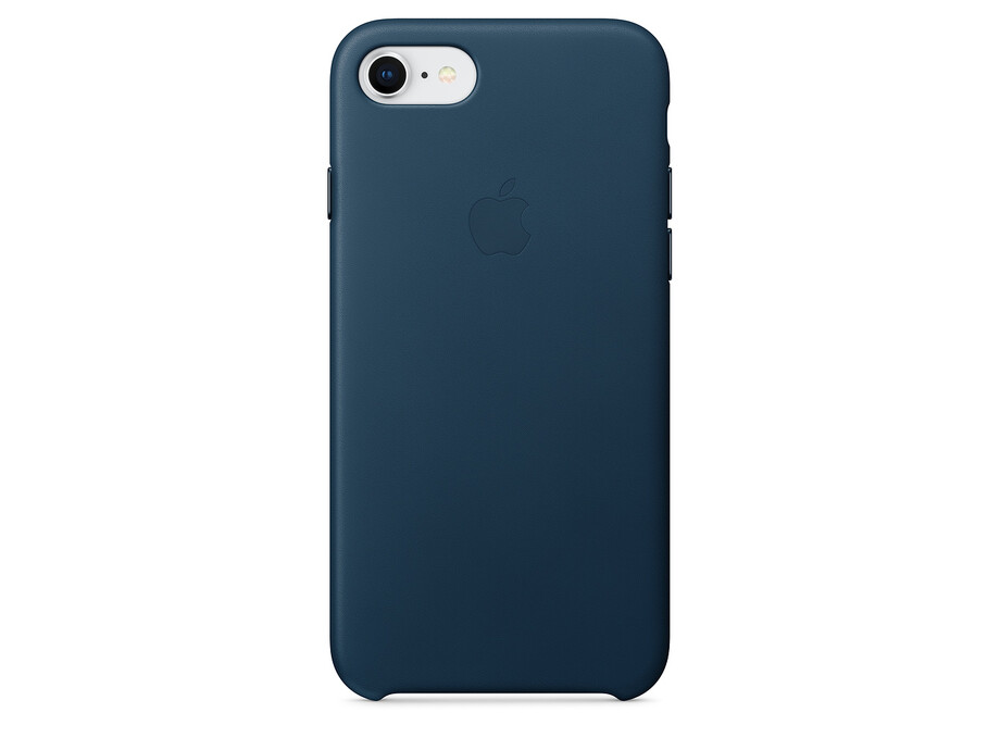 MQHF2 Apple iPhone 7/8 Leather Case - Cosmos Blue 0