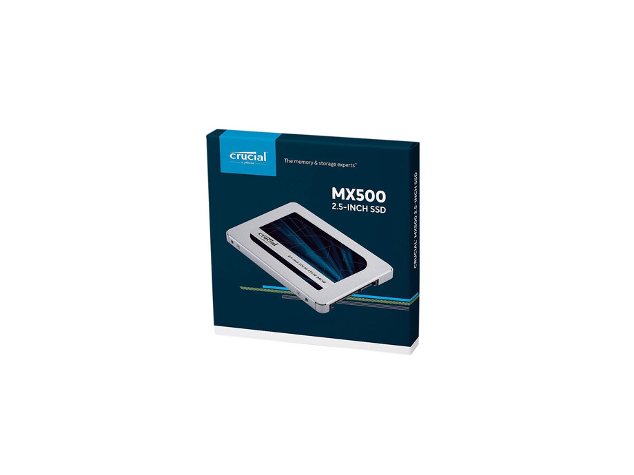 SSD disks CRUCIAL MX500 500GB SATA 3.0 Read:Write 510/560 MBytes/sec 0
