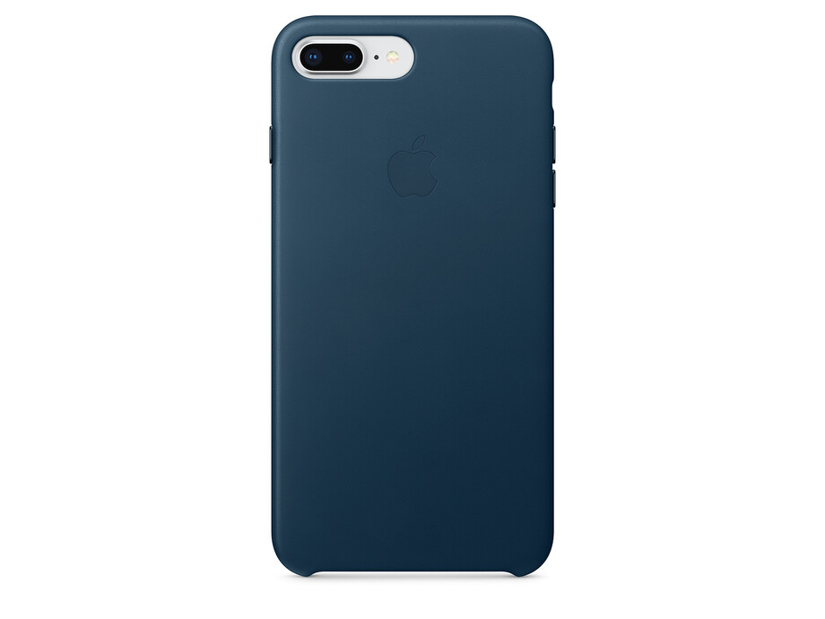 MQHR2 Apple iPhone 7/8 plus  Leather Case - Cosmos Blue 0
