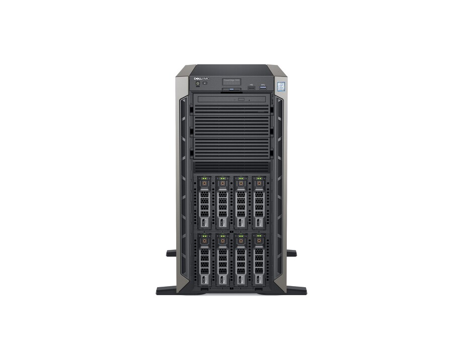Serveris DELL PowerEdge T440/8 x 3.5 HotPlug/Xeon Silver 4110/16GB/120GB SSD/Casters/Bezel/On-Board LOM DP/PERC H730P+/iDRAC9 Ent/Redundant 495w/3Yr 1
