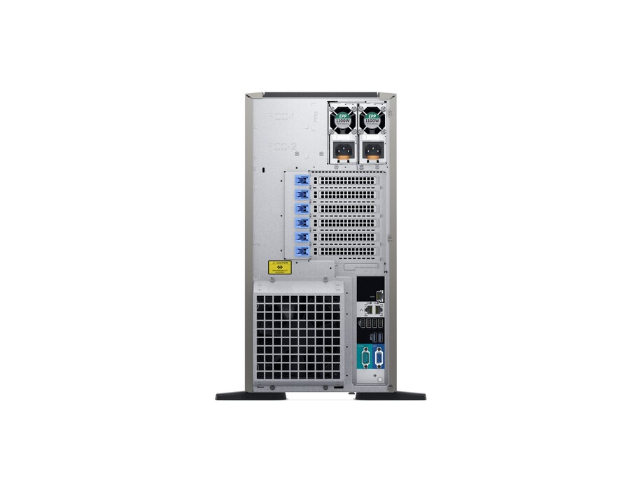 Serveris DELL PowerEdge T440/8 x 3.5 HotPlug/Xeon Silver 4110/16GB/120GB SSD/Casters/Bezel/On-Board LOM DP/PERC H730P+/iDRAC9 Ent/Redundant 495w/3Yr 2