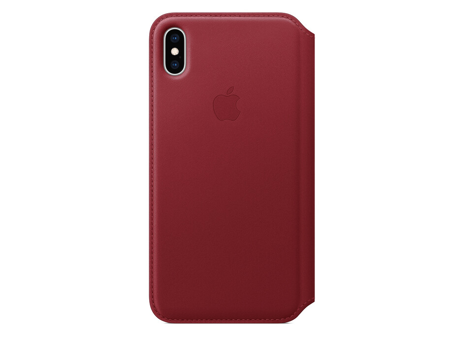 MRX32 iPhone XS Max Leather Folio - (PRODUCT)RED 2
