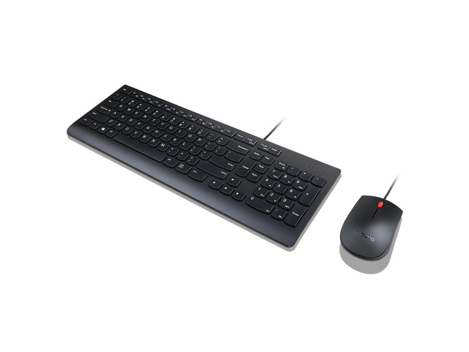 Lenovo Essential Keyboard and Mouse Combo 4X30L79922 Wired, USB, Keyboard layout US with EURO symbol 1