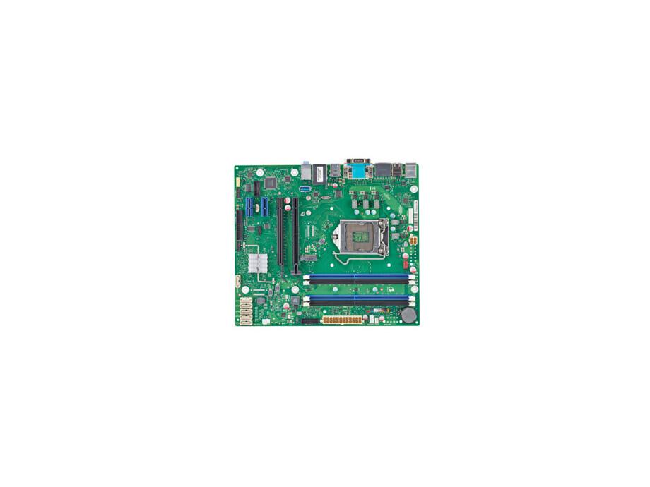Pamatplate FUJITSU D3417-B2  µATX Intel C236, LGA1151, 4xDDR4, TPM, Non-ECC /ECC 0