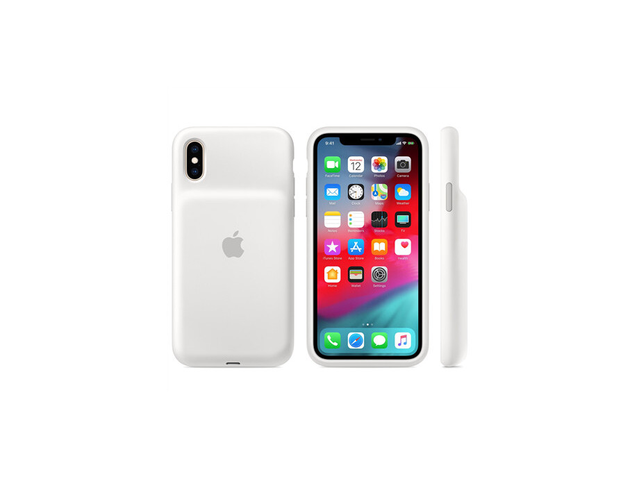 Apple iPhone XS Smart Battery Case - White 0