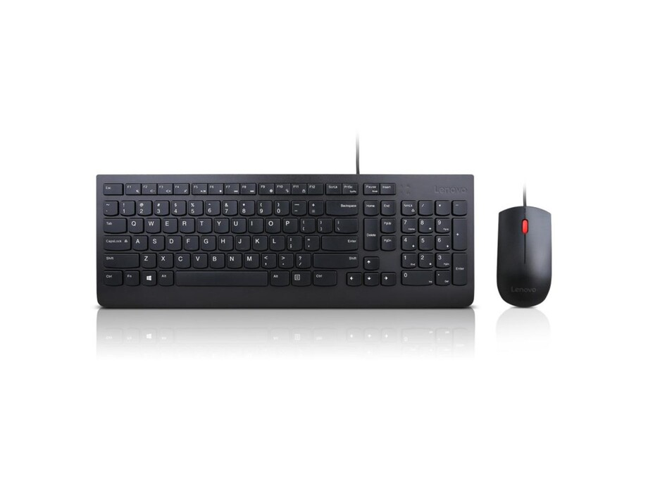 Lenovo Essential Keyboard and Mouse Combo 4X30L79922 Wired, USB, Keyboard layout US with EURO symbol 3