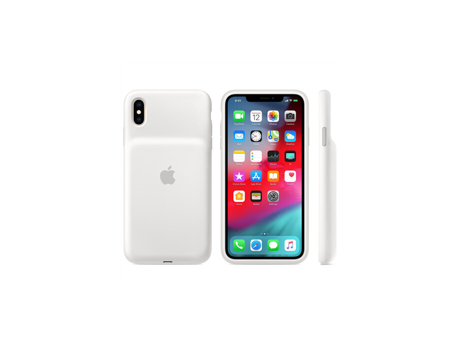 Apple iPhone XS Max Smart Battery Case - White 0
