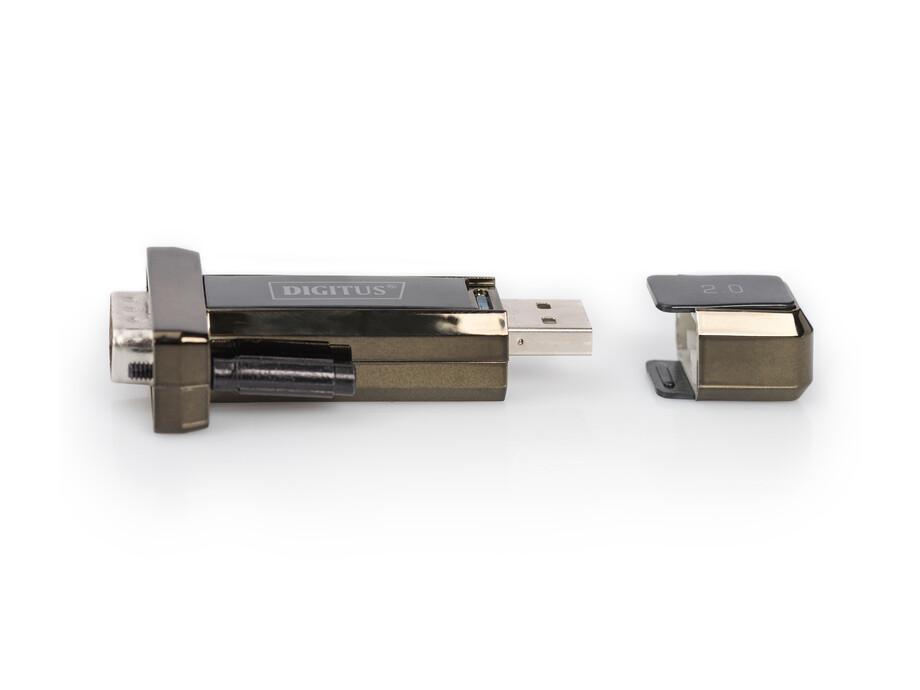 Kabelis USB-C to serial adapter 1