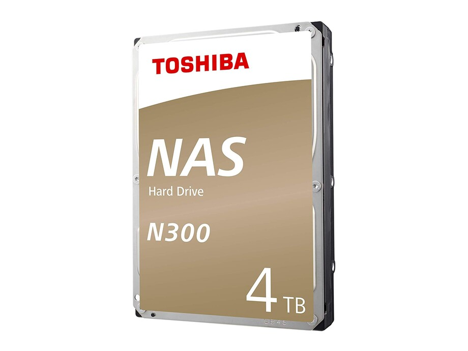 Internal HDD Toshiba N300, 3.5'', 4TB, SATA/600, 7200RPM, 128MB cache 1