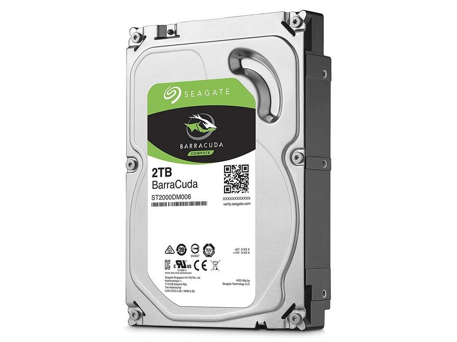 Internal HDD Seagate BarraCuda 3.5'' 2TB SATA3 7200RPM 256MB 1