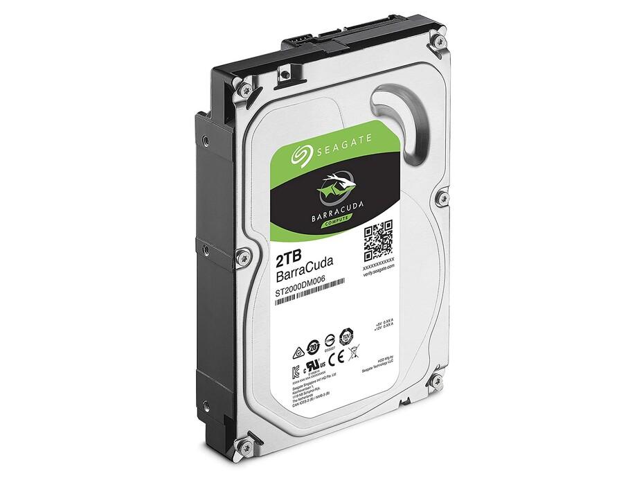 Internal HDD Seagate BarraCuda 3.5'' 2TB SATA3 7200RPM 256MB 2