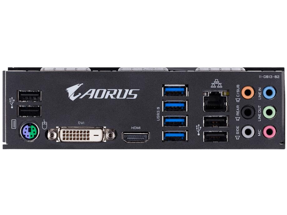 Pamatplate GIGABYTE B450 AORUS ELITE 1.0, AM4, 4xDDR4, DVI-D/HDMI, USB-C 3