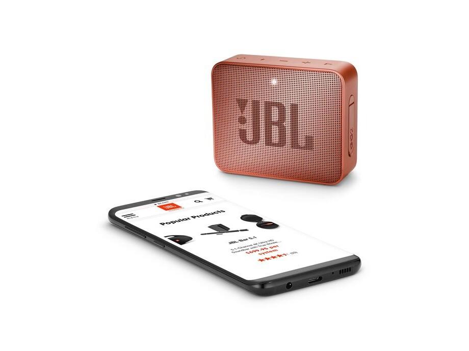 Portatīvais skaļrunis SPEAKER 1.0 BLUETOOTH/SUNKIS CIN JBLGO2CINNAMON JBL 3
