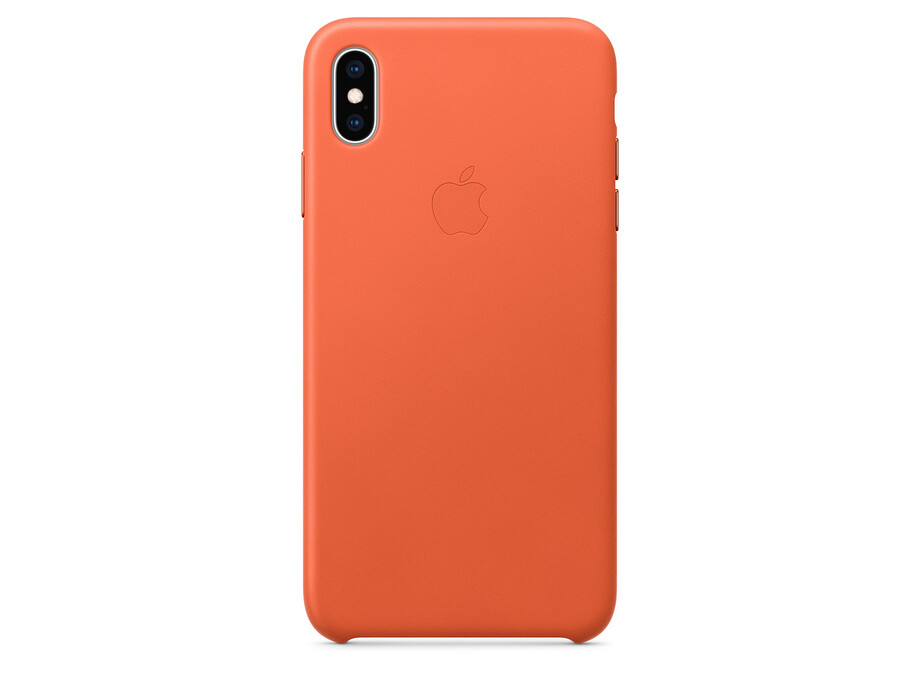 iPhone XS Max Leather Case - Sunset EOL 2