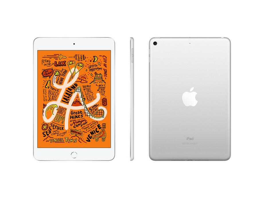 MUX62 iPad Mini 5 Wi-Fi + Cellular 64GB Silver  2019 1