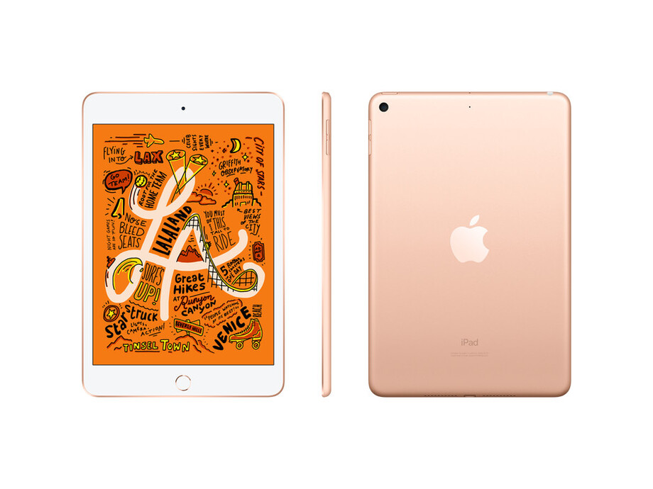 MUX72 iPad Mini 5 Wi-Fi + Cellular 64GB Gold  2019 1