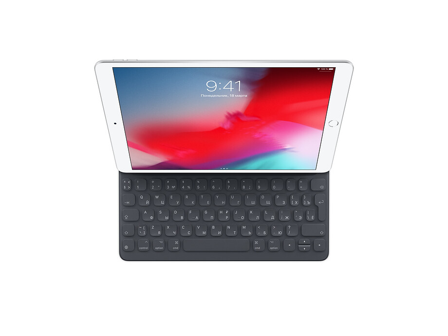 Smart Keyboard for iPad (7th generation) and iPad Air (3rd generation) - Russian EOL 1
