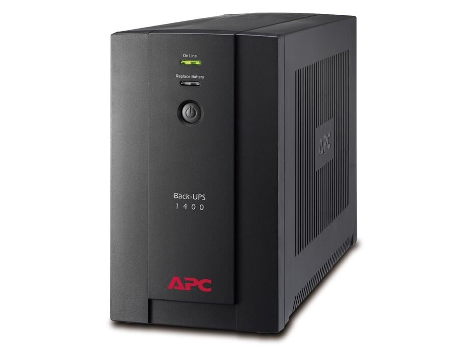 Nepārtrauktās barošanas bloks APC UPS 1400VA, 700W, black 0