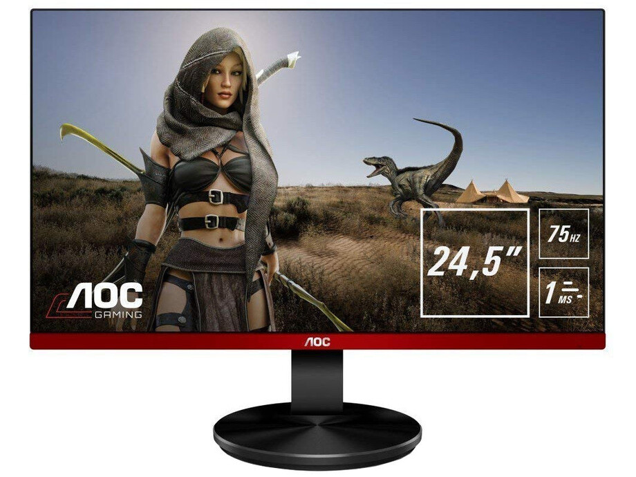 Monitors AOC G2590VXQ 24,5''/16:9/1920x1080/1ms/170/160/50M:1/250 cd/m²/VGA, DisplayPort, HDMI 0