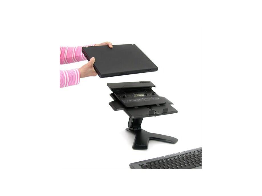 ERGOTRON Neo-Flex Notebook Lift Stand portatīvajam  datoram, melns 1