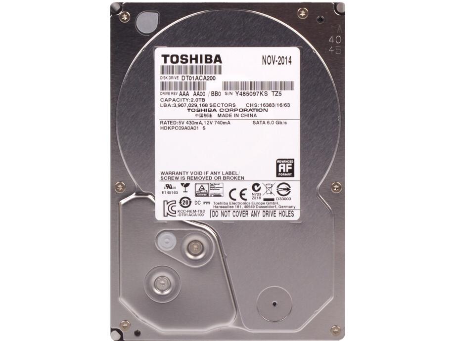 """Cietais disks Toshiba 3.5"""" 2TB SATA 6Gb/s 7.2K RPM 128M 512E 0"""