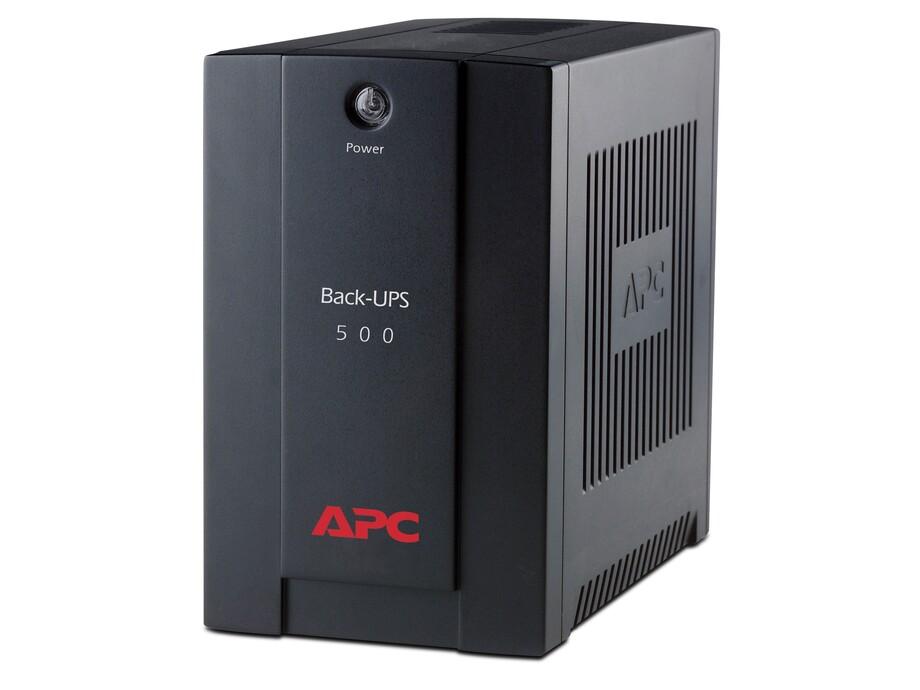 Nepārtrauktās barošanas bloks UPS APC Back-UPS 500VA 1