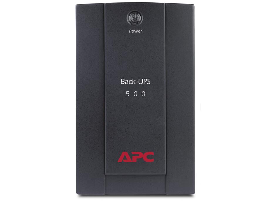 Nepārtrauktās barošanas bloks UPS APC Back-UPS 500VA 0
