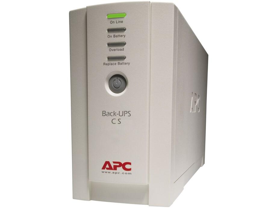 Nepārtrauktās barošanas bloks APC Back-UPS CS 325VA 0