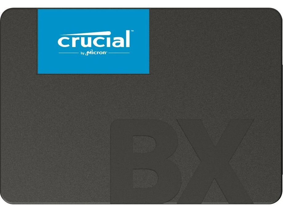 "SSD 480GB - Crucial BX500 2.5"" SATA III R/W 540/500 MBps 1"