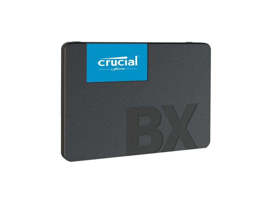 "SSD 480GB - Crucial BX500 2.5"" SATA III R/W 540/500 MBps 0"