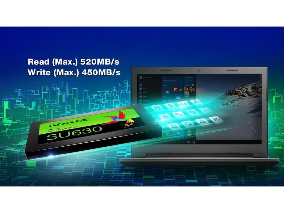 SSD ADATA Ultimate SU630 240GB SATA3 (Read/Write) 520/450 MB/s 1