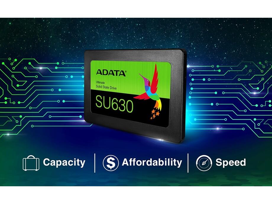 SSD ADATA Ultimate SU630 240GB SATA3 (Read/Write) 520/450 MB/s 0