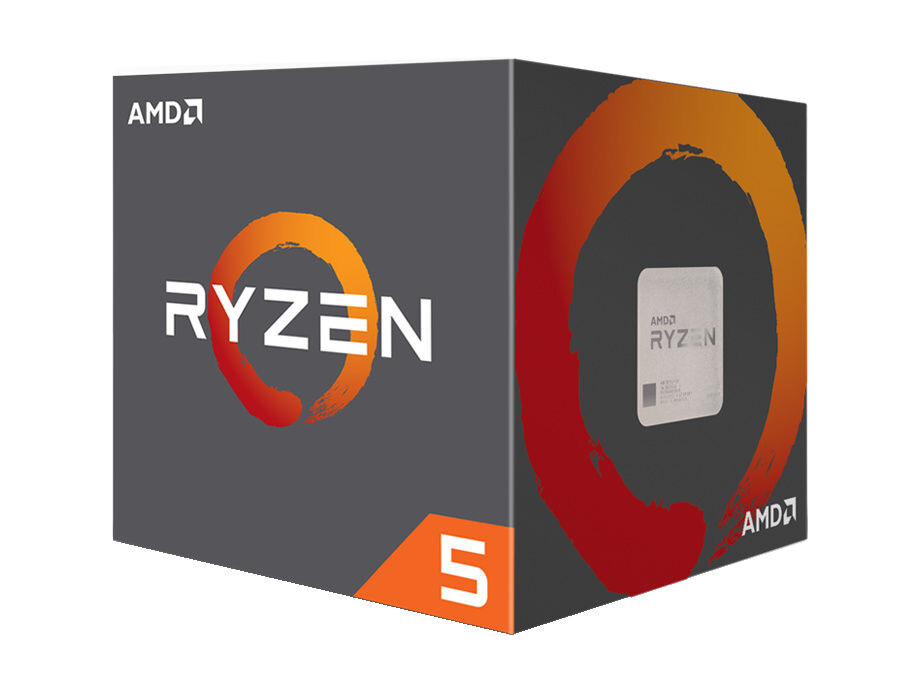 Procesors AMD Ryzen 5 2600, 4.2 GHz, 6C12T, 95W, Wraith Stealth Cooler, BOX 0
