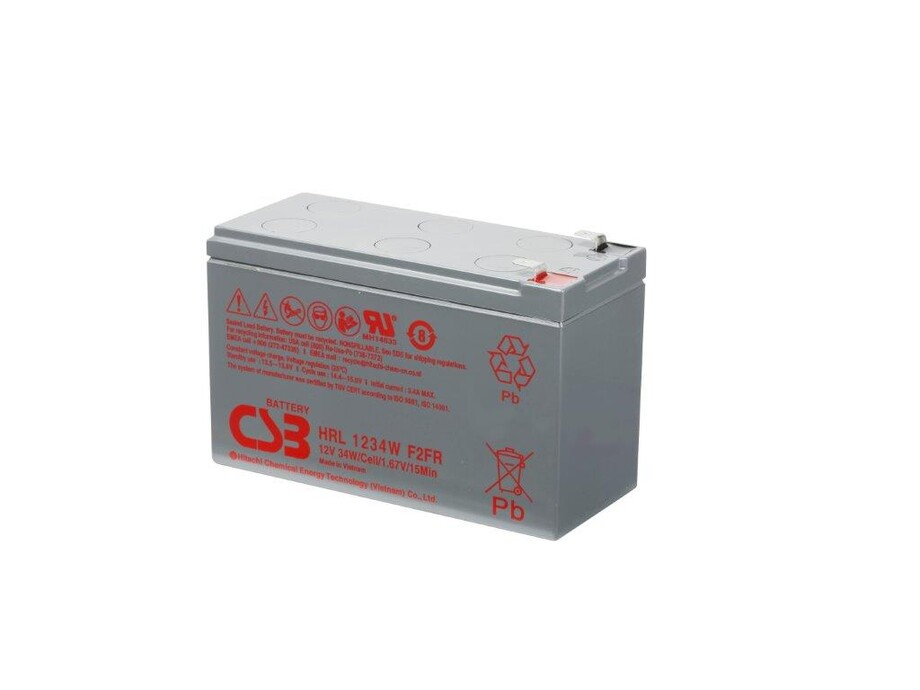 Akumulātors CSB battery HR1234W F2 12V/9Ah 0