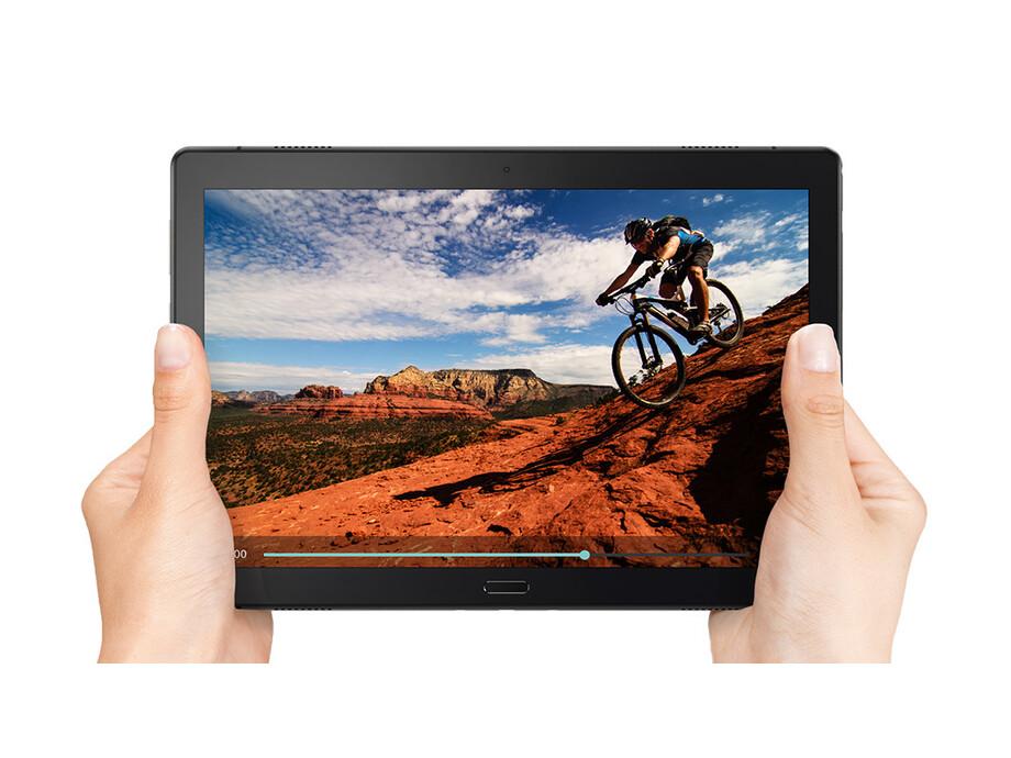 "Planšetdators Lenovo IdeaTab Tab P10 10.1 "", Aurora Black, IPS, 1920 x 1200 pixels, Qualcomm, Snapdragon 450, 4 GB, 64 GB, Wi-Fi, 4G, Front camera, 5 MP, Rear camera, 8 MP, Bluetooth, 4.2, Android, 8.1 3"