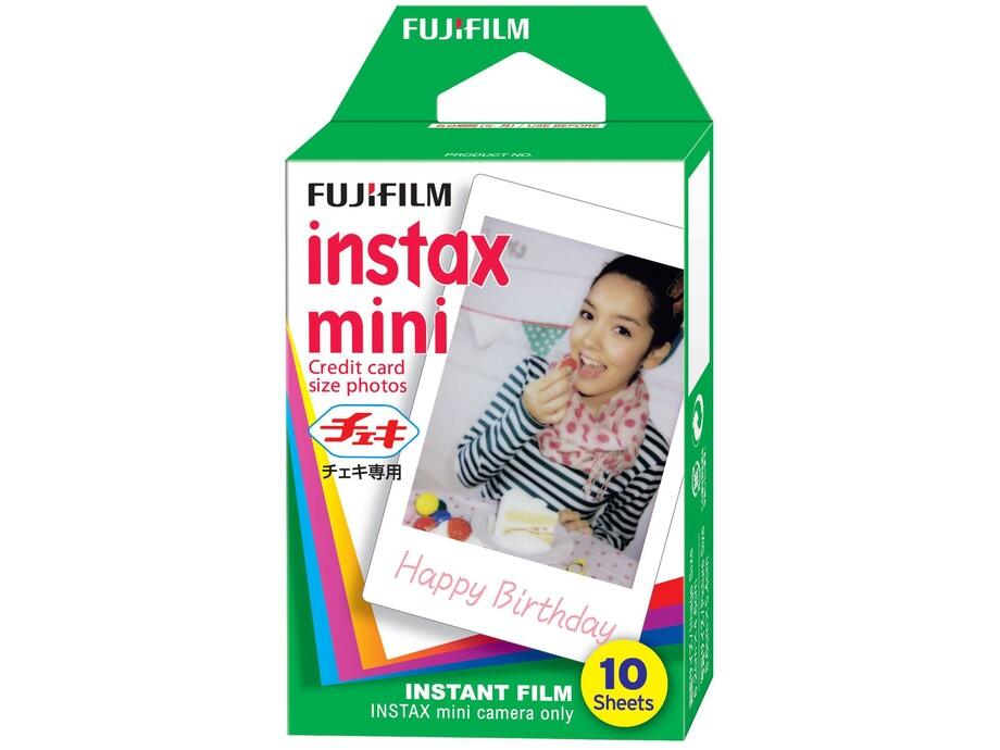 Fujifilm Instax Mini Glossy Instant Film Quantity 10, 86 x 54 mm 0