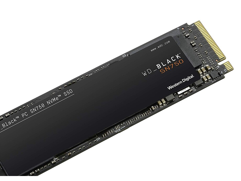 SSD 1TB - WD Black NVMe SN750 SSD 1TB M.2 PCI-E 3470/3000MB/s 1