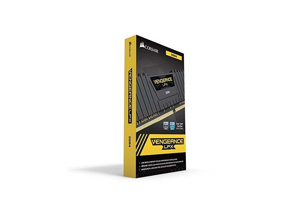 Atmiņa Corsair 8GB (KIT: 2x4GB) Vengeance LPX DDR4 3000MHz 3