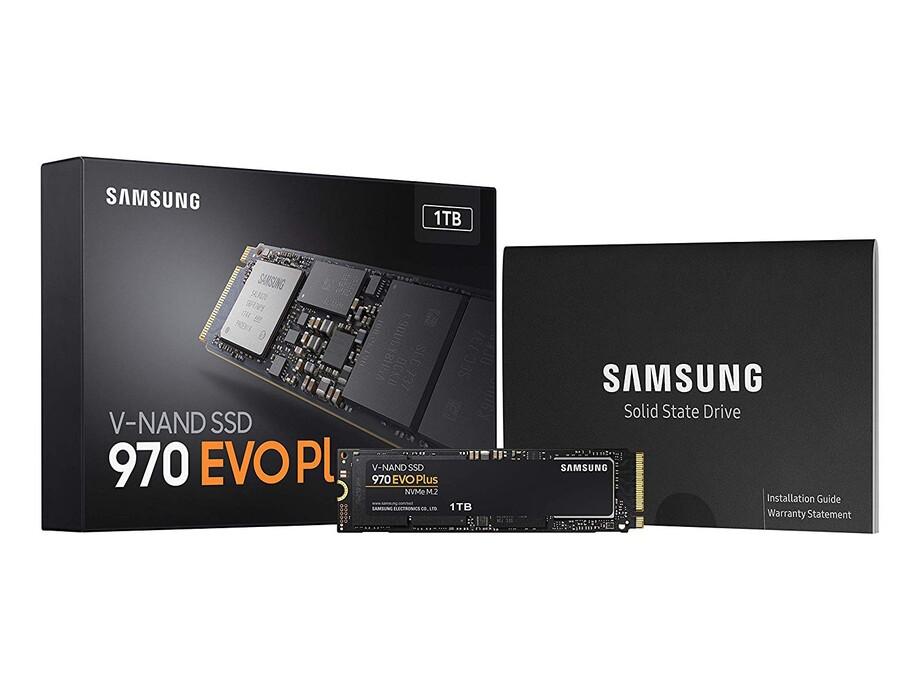 SSD 1TB - Samsung 970 EVO Plus NVMe M.2 PCIe R/W 3500/3300MB/s 2