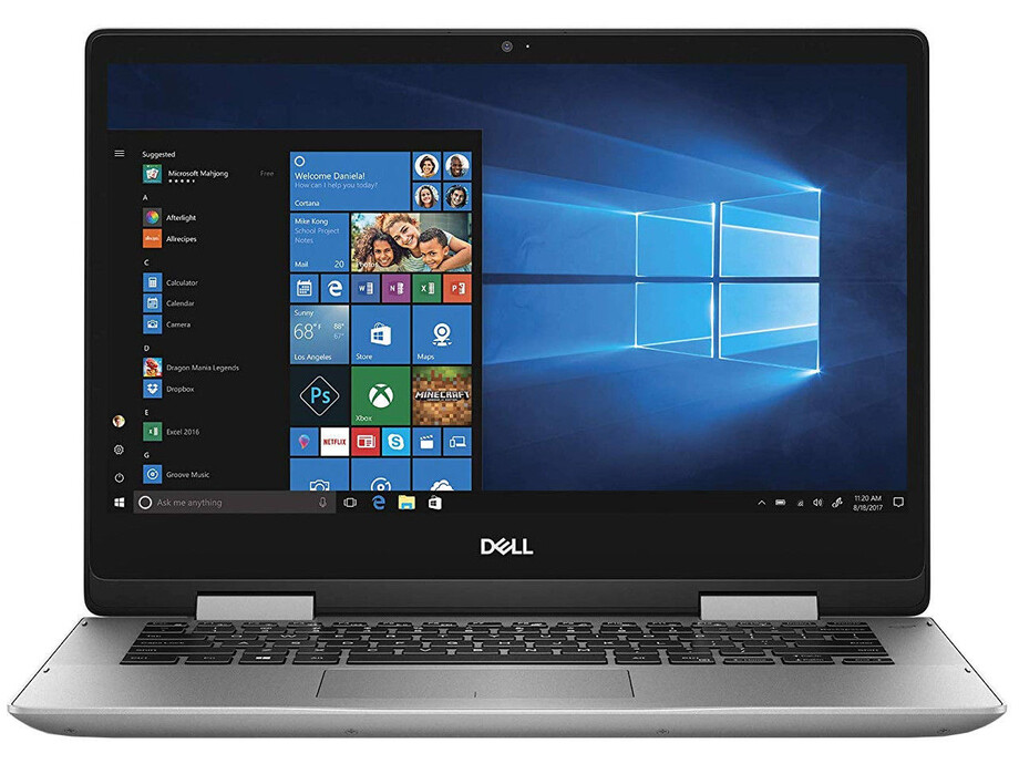 "Dell Inspiron 14 5482 Silver, 14 "", IPS, Touchscreen, Full HD, 1920 x 1080 pixels, Intel Core i3, i3-8145U, 4 GB, DDR4, SSD 256 GB, Intel UHD, Windows 10 Home, 802.11ac, Keyboard language English, Keyboard backlit, Warranty 36 month(s), Battery warranty 1 0"