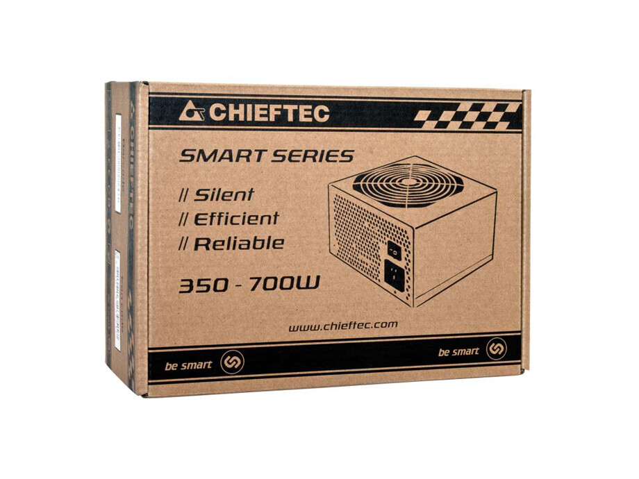 Barošanas bloks Chieftec PSU 700W 12CM FAN ACTIVE PFC ATX12V V2.3 80+ EFFICIENCY 2