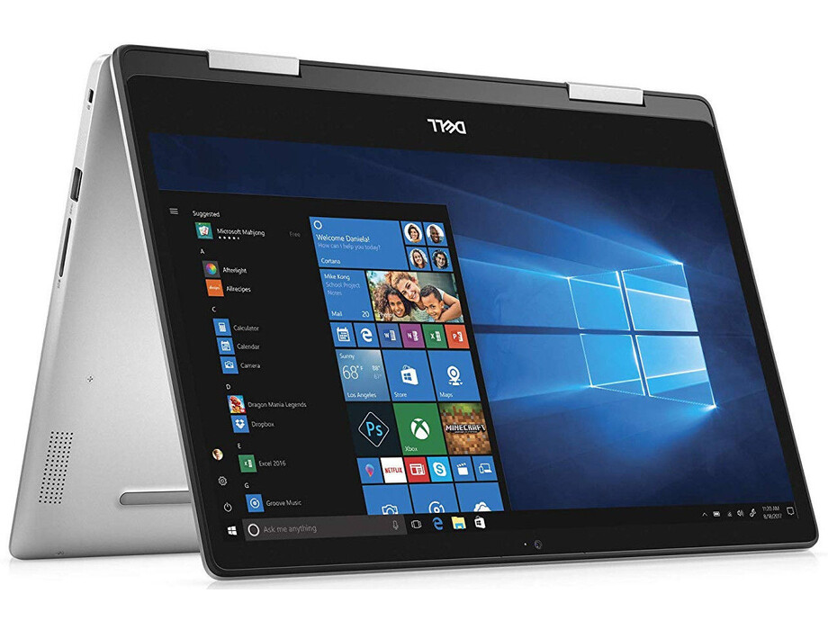 "Dell Inspiron 14 5482 Silver, 14 "", IPS, Touchscreen, Full HD, 1920 x 1080 pixels, Intel Core i3, i3-8145U, 4 GB, DDR4, SSD 256 GB, Intel UHD, Windows 10 Home, 802.11ac, Keyboard language English, Keyboard backlit, Warranty 36 month(s), Battery warranty 1 1"