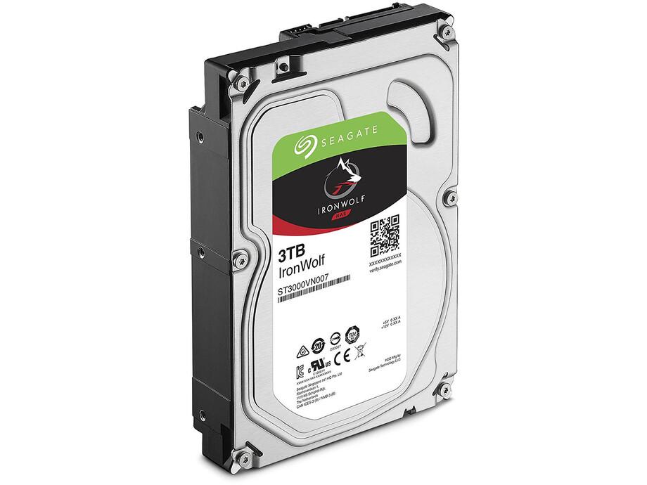 Cietais disks Seagate IronWolf HDD 3.5'' 3TB SATA3 5900RPM 64MB 2