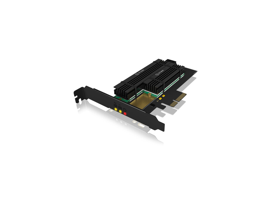 IcyBox PCIe extension card for 2x SATA/NWMe M.2 0